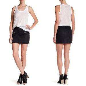 Zadig & Voltaire Jill Brut Mini Skirt